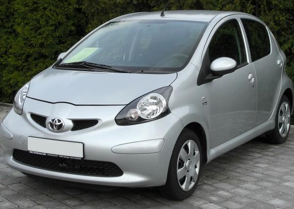 Toyota Aygo Kölcsönzés