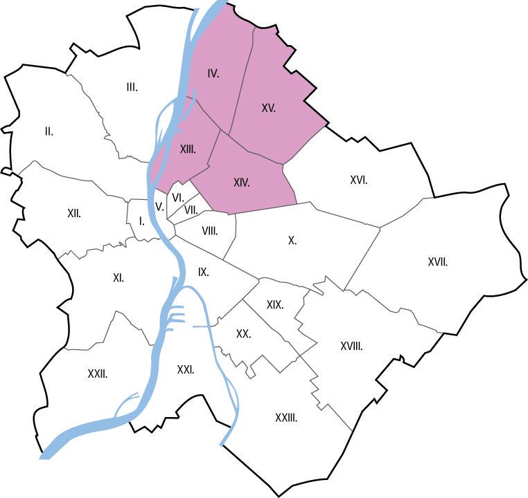 Autókölcsönzés Budapest IV., XIII., XIV., XV. kerület