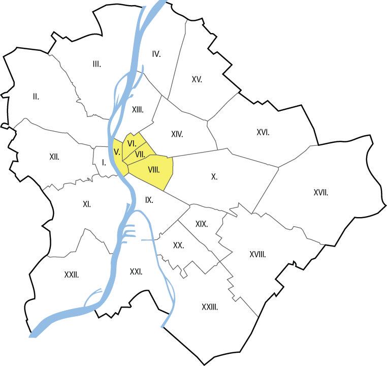 Autókölcsönzés Budapest V., VI., VII., VIII. kerület