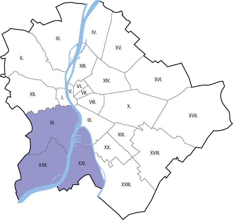 Autókölcsönzés Budapest XI., XXI., XXII. kerület